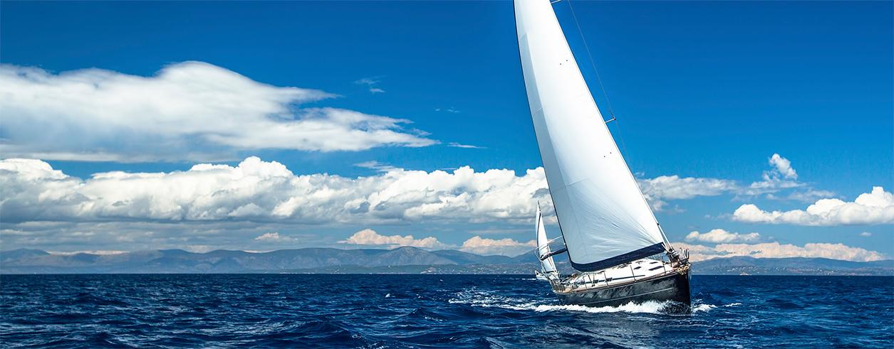 Motor Boat and Sail Foto  1